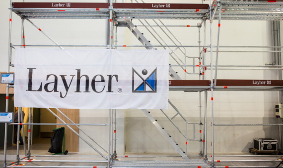 Layher na Targach w Krakowie – fotorelacja