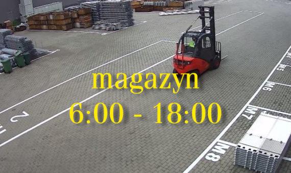 Nowe godziny pracy magazynu