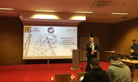 Layher partnerem FOH Rigging and Structures Conference II
