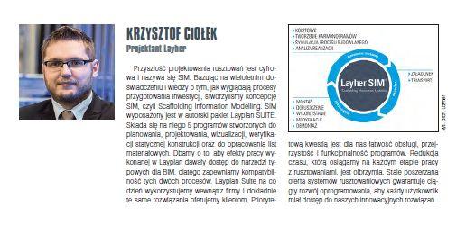 Cyfrowa przyszłość z Layher SIM