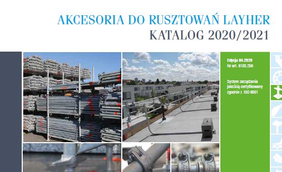 """Nowy katalog """"Akcesoria 2020/2021"""" już do pobrania"""